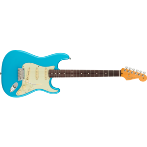 Fender - American Professional II Stratocaster Rw Miami Blue Chitarra Elettrica