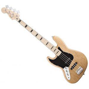 FENDER SQUIER - Vintage Modified Jazz Bass Mn Left Hand Natural 0326722521 Basso elettrico mancino 4 corde