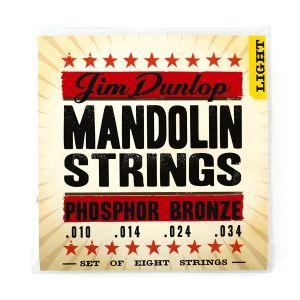 DUNLOP - Dmp1034 Mando-phb Light 8/set 10-14-24-34 muta per mandolino