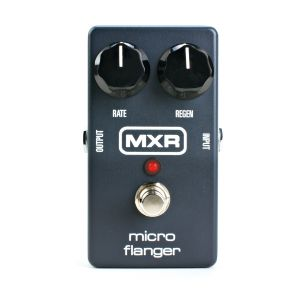 "DUNLOP MXR - M-152 Micro Flanger ""sound Great With Bass"" effetto a pedale per chitarra elettrica"