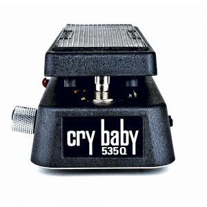 DUNLOP - 535q-b Cry Baby Q-black effetto a pedale per chitarra elettrica