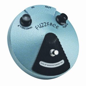 DUNLOP - Jh-f1 Hendrix Fuzz Face Pedal effetto a pedale per chitarra elettrica