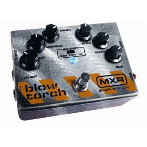 DUNLOP MXR - M-181 Bass Blow Torch Distortion effetto a pedale per basso elettrico