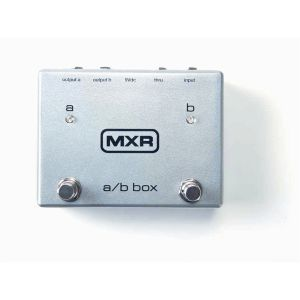 DUNLOP MXR - M196 Mxr A/b Box PEDALE 1 IN /3 OUT CON INDICATORI LED