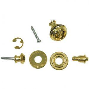 DUNLOP - Sls1032br Dual-Design Straplock System Brass