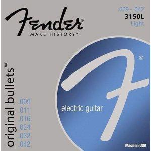 FENDER - 3150L Original Bullets Pure Nickel 09-042 0733150403 muta per chitarra elettrica
