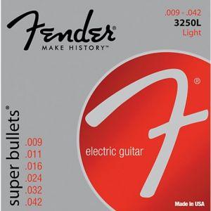 FENDER - 3250L Nickel Plated Steel Light 9-42 0733250403 muta per chitarra elettrica