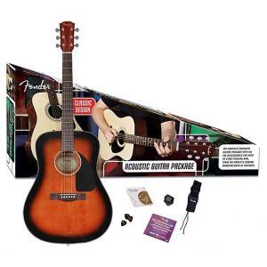 FENDER - Cd60 Guitar Pack Sunburst 0960607132