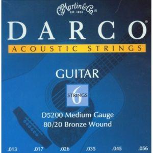 MARTIN DARCO - D5200 - Muta 13/56 Per Chitarra Acustica Medium