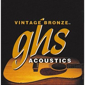 GHS - Vn12L - Vintage Bronze - Light Muta per chitarra acustica 12 corde