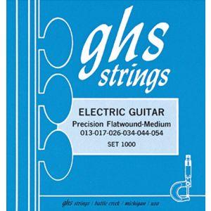 GHS - 750 UL Precision Flatwound 09/42 Ultra Light muta per chitarra elettrica