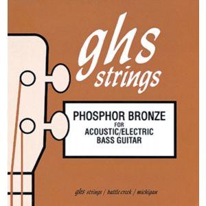 GHS - 9200 PHOSPHOR BRONZE 40/96 Short scale muta per basso elettrico e acustico 4 corde