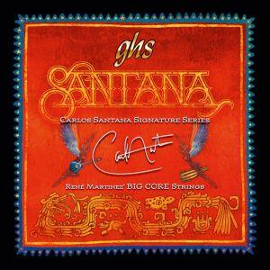GHS - BCL Big Core Nickel Light 10/48 Muta di corde Santana per chitarra elettrica