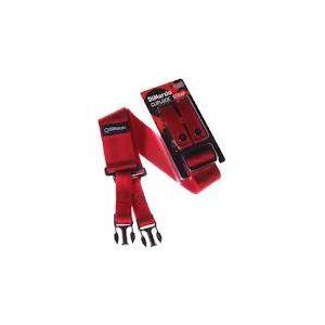 DI MARZIO - Dd2200n Nylon Cliplock - tracolla colore Rosso - Dd2200rd