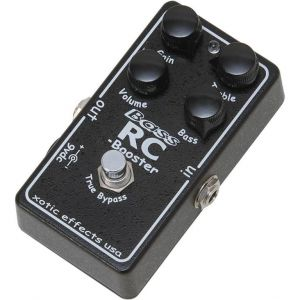 XOTIC EFFECTS - Bass Rc Booster effetto a pedale per basso elettrico