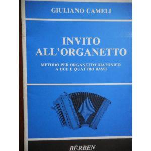 BERBEN - G. Cameli Invito all'organetto Metodo per Organetto