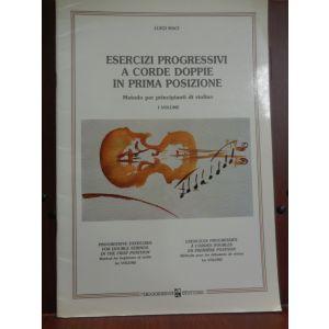 RUGGINENTI - Esercizi Progressivi A Corde Doppie Metodo per Violino
