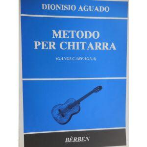 BERBEN - D.Aguada Metodo per Chitarra