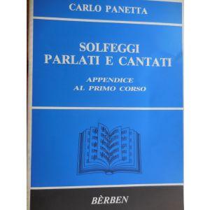 BERBEN - C.Panetta Solfeggi Parlati e  Cantati appendice I Corso