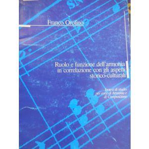 CARISCH - Orofino Ruolo E Funzione Dell'armonia In Correl