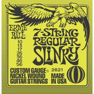2621 - 7-string Regular Slinky 10/56 Muta Per Chitarra Elettrica
