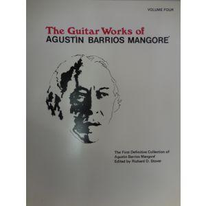 WARNER - A.Barrios Mangore' The Guitar Works Ofa.. A.Barrios vol.4
