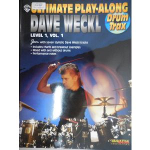 WARNER - D.Weckl Ultimate Play-along For Drums Trax Level 1 cd