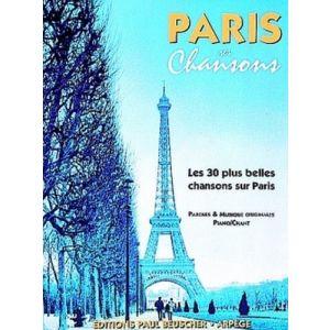 PAUL BEUSCHER - Paris Ses Chansons Les 30 Plus Belles Chansons Sur Paris