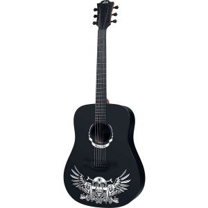 LAG - W - Hell - D Wings of Hell Dreadnought Chitarra Acustica