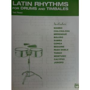 EDIZIONI MUSICALI RIUNITE - T.Reed Latin Rhythms For Drums And Timbales