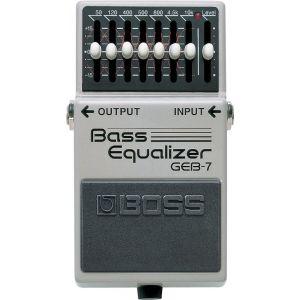 BOSS - GEB-7 Bass Equalizer effetto a pedale per basso elettrico
