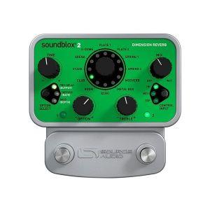 SOURCE AUDIO - Sa225-soundblox 2 Dimension Reverb effetto a pedale per chitarra elettrica