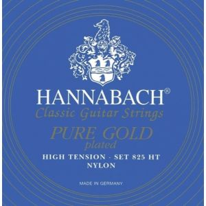 HANNABACH - H825 Ht Set Blue High Tension Special Gold set di corde per chitarra classica