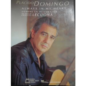 HAL LEONARD - Domingo Placido Always In My Heart