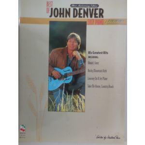 HAL LEONARD - Denver Best Of John Denver