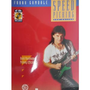 HAL LEONARD - F.Gambale Speed Picking For Guitar Cd