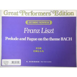F.Liszt Prelude And Fugue On The Theme Bach