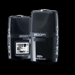 ZOOM - H2n Registratore Digitale Palmare 2 Tracce