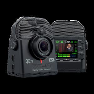 ZOOM - Q2n 4k Videocamera Digitale Palmare Audio Video con microfono stereo e webcam