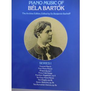 DOVER - B.Bartok The Archive Edition Series I