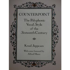 DOVER - K.Jeppesen Counterpoint Polyphonic Vocal Style
