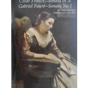 DOVER - Franck-Faure' Sonata In A -sonata N¦1 Violin/pia