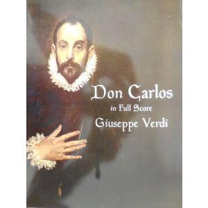 DOVER - G.Verdi Don Carlos In Full Score