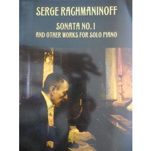 DOVER - Rachmaninoff Sonata N.1 Per Piano