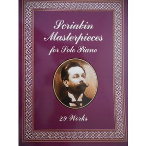 DOVER - Scriabin Masterpieces For Solo Piano 29 Works