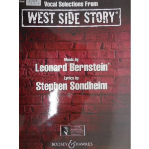 HAL LEONARD - Bernstein West Side Story Piano-vocal