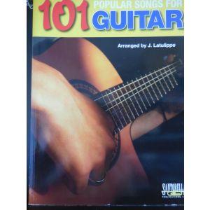 CARISCH - J.Latulippe 101 Popular Songs For Guitar