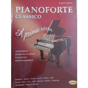 CARISCH - F.Concina Pianoforte Classico A Prima Vista Antol