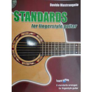 CARISCH - D.Mastrangelo Standards For Fingerstyle Guitar Cd