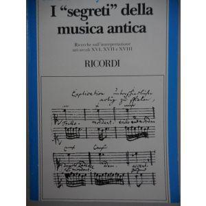 RICORDI - Geoffroy-Dechaume I Segreti Della Musica Antica